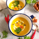 Vegan Pumpkin Soup | 30 minute recipe