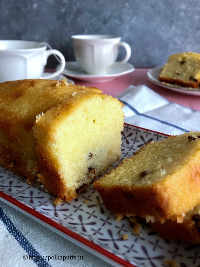 Almond and Cranberry Loaf Cake | Almond Cake Recipe