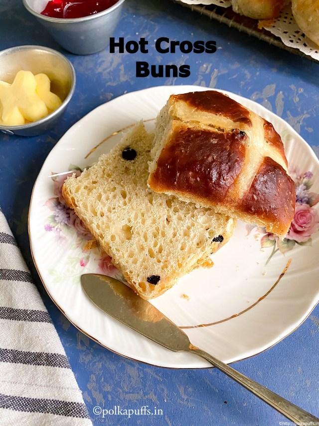 Hot Cross Buns | Easter Hot Cross Buns
