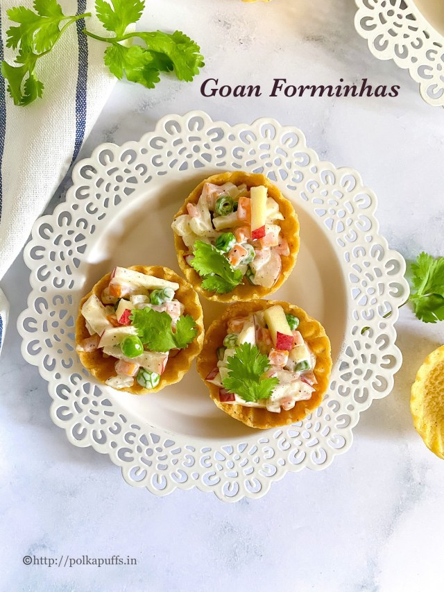 Goan Forminhas | How to make Goan Canapés