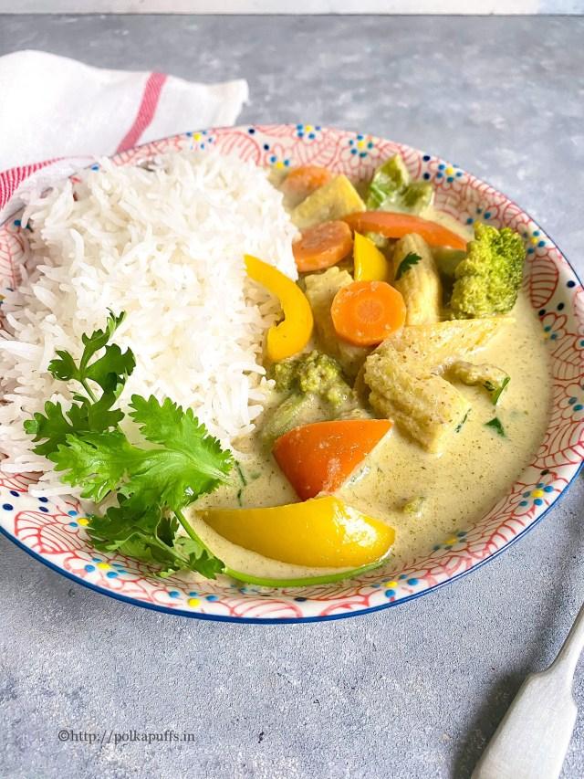 Vegan Thai Green Curry Recipe   Thai Green Curry Paste