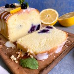 Lemon and Blueberry Pound Cake | Lemon Pound Cake Recipe