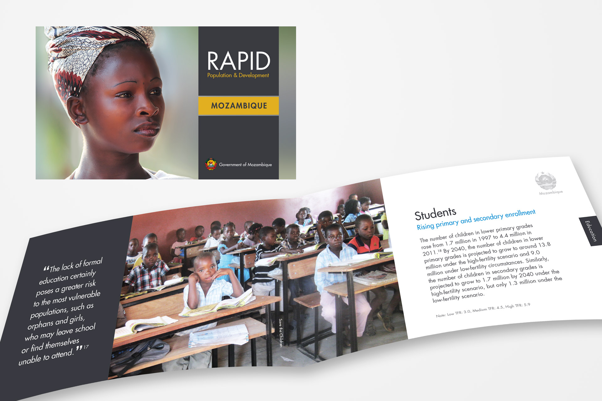 RAPID Mozambique Cover & Inside Pages
