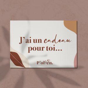 P'ollen-nettoyant P'OLLEN-carte cadeau a telecharger