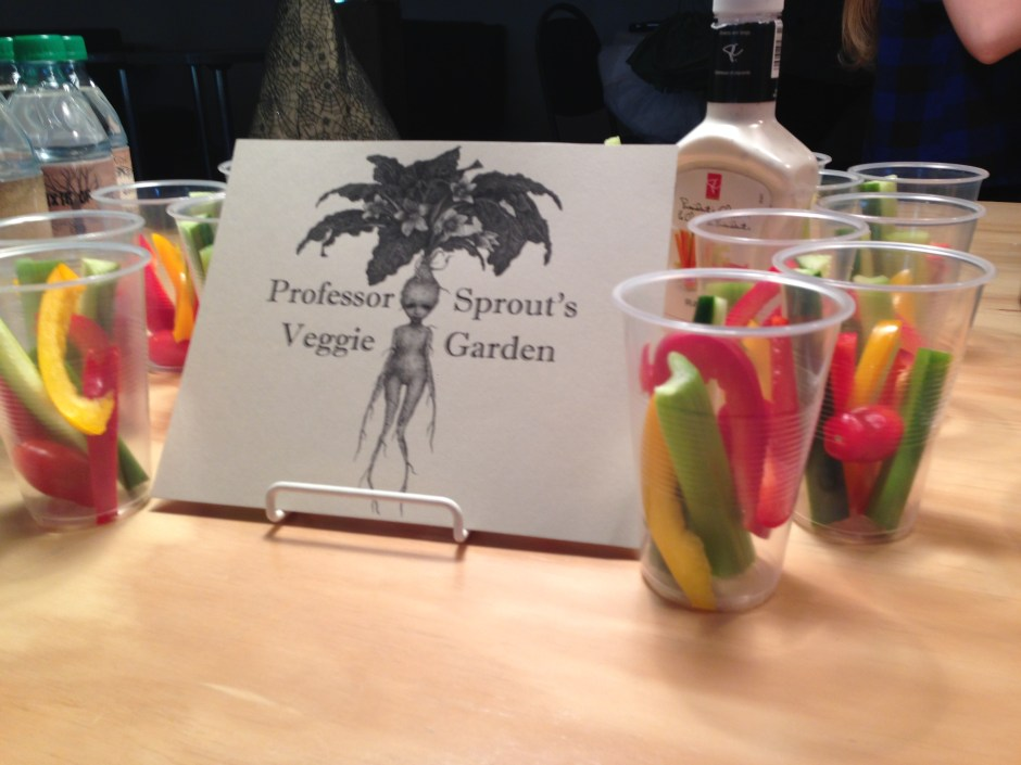 Professor Sprout's Veggie Garden, DIY, Harry Potter Party, Hogwarts Party