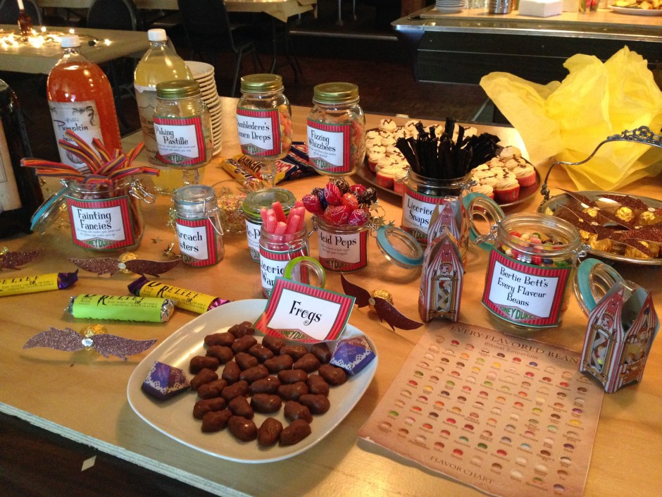 Honeydukes, DIY, Harry Potter Party, Hogwarts Party, harry potter candy