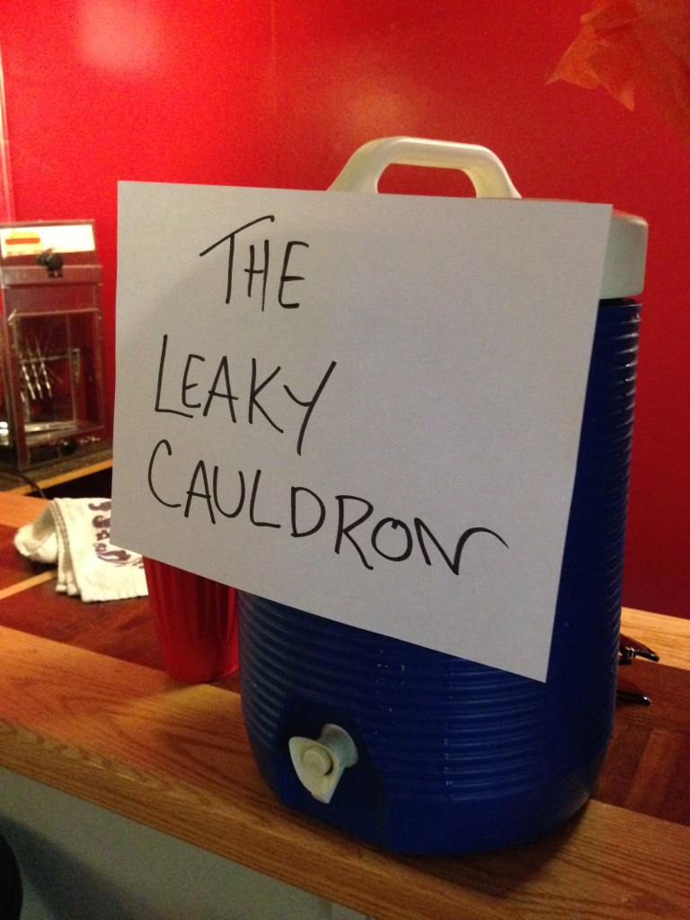 The Leaky Cauldron, DIY, Harry Potter Party, Hogwarts Party