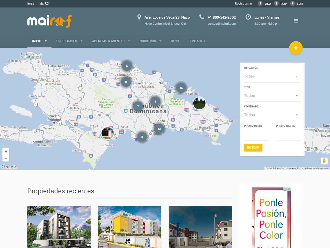 Mai Rûf — Real Estate Agency