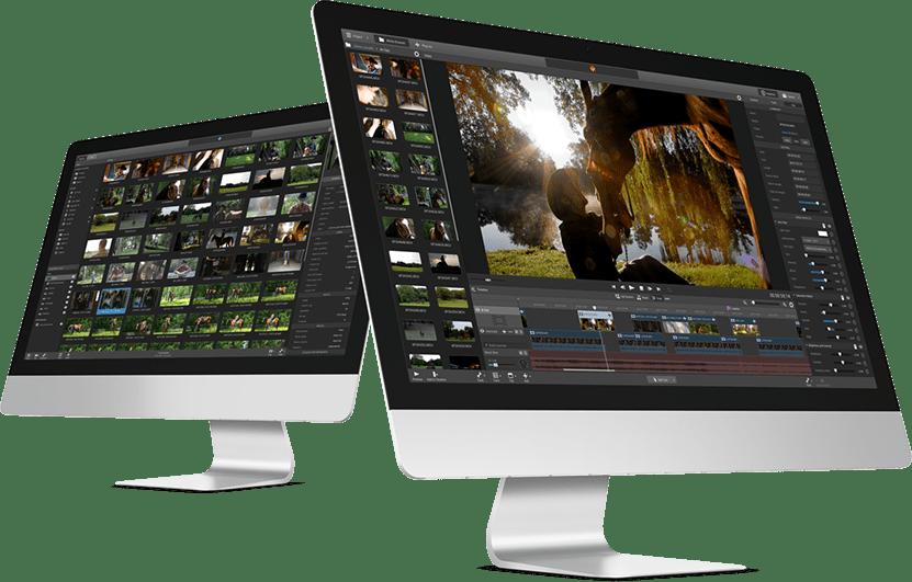 Edición de video en iMac