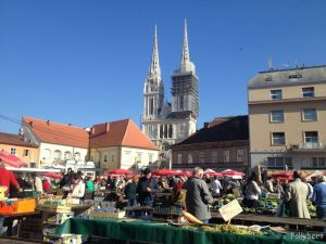 every day is market day in Zagreb