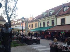 pub and bar street @Zagreb