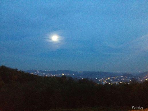 evening over Zagreb