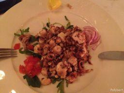 octopus salad @restaurant Vinodol