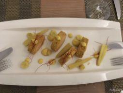 Duck liver paté at Villa Paramesa