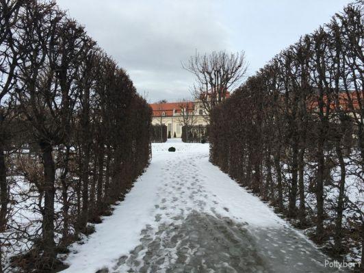 Lower Belvedere in Vienna, Austria