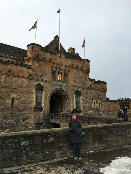 entrance to Edinburgh Castle @Edinburgh, Scotland