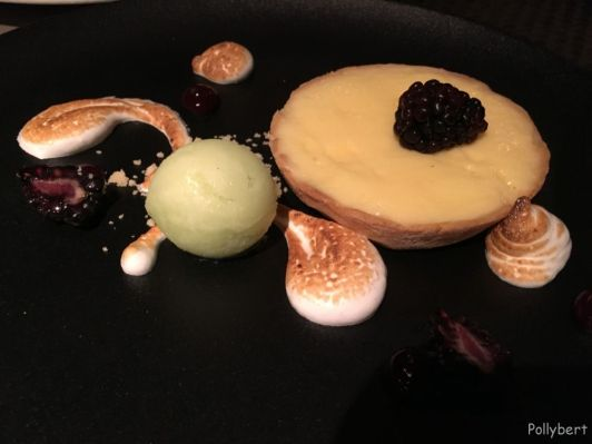 Lime Tart @Angels with Bagpipes