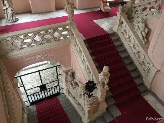 staircase of the Castle @Maribor, Slovenia
