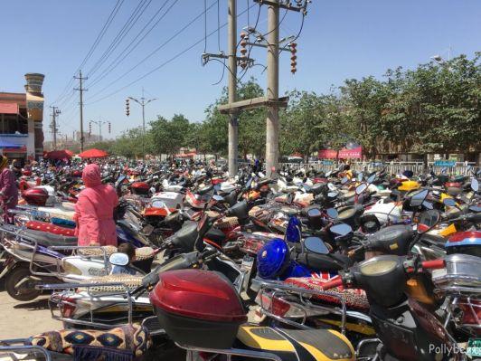 find your bike @Kashgar