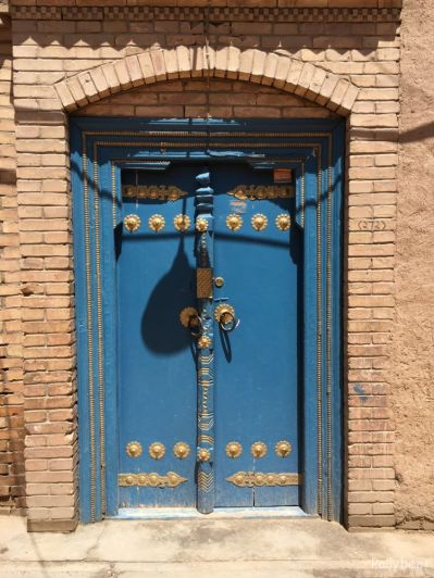 the doors of the Silk Road @China