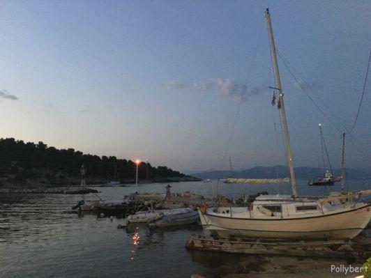sunset @Paxos