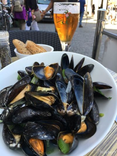 mussels in Bruges