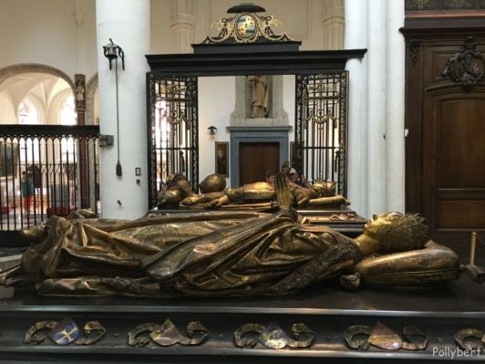 tombs of Mary of Burgundy and Charles the Bold @Bruges