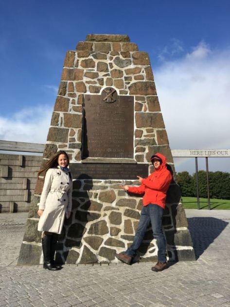 Memorial cairn @Bannockburn
