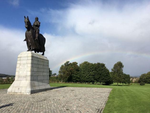 Robert the Bruce monument @Bannockburn