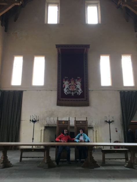 Great Hall in Stirling Castle