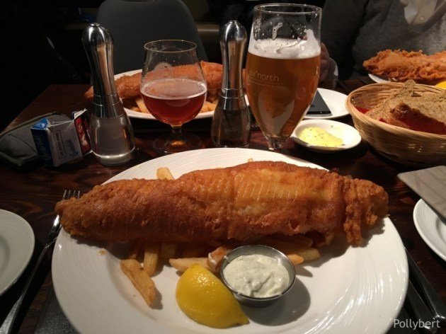 fish and chips @Stonehaven