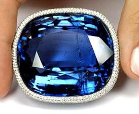 Blue giant of the orient sapphire