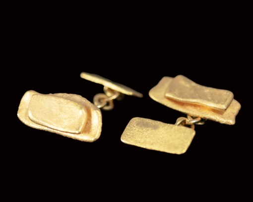 22ct gold cufflinks