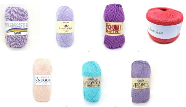 More crazy yarn bargains at The Wool Factory