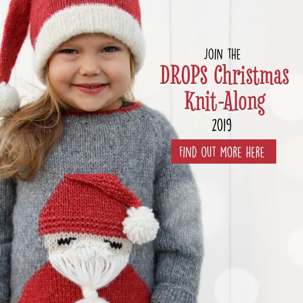 Drops Christmas jumper KAL