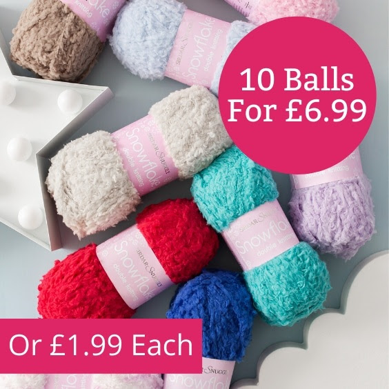 Sirdar Snuggly Snowflake DK 10 balls for £6.99 at The Knitting Network