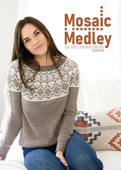 Mosaic Medley: Slip-Stitch Colorwork by Knit Picks