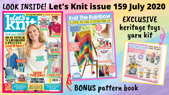 Let's Knit magazine issue 159 out now