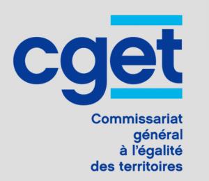 Logo CGET Comissariat général à l'égalité des territoires