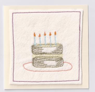 Handmade Birthday card.
