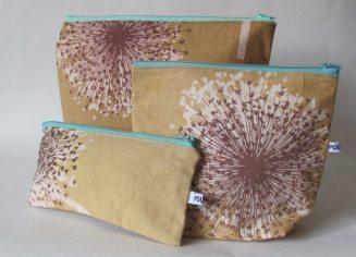 handmade cosmetic bags