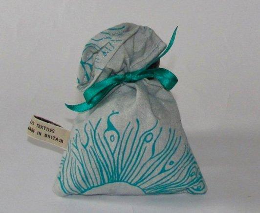hand printed lavender bags