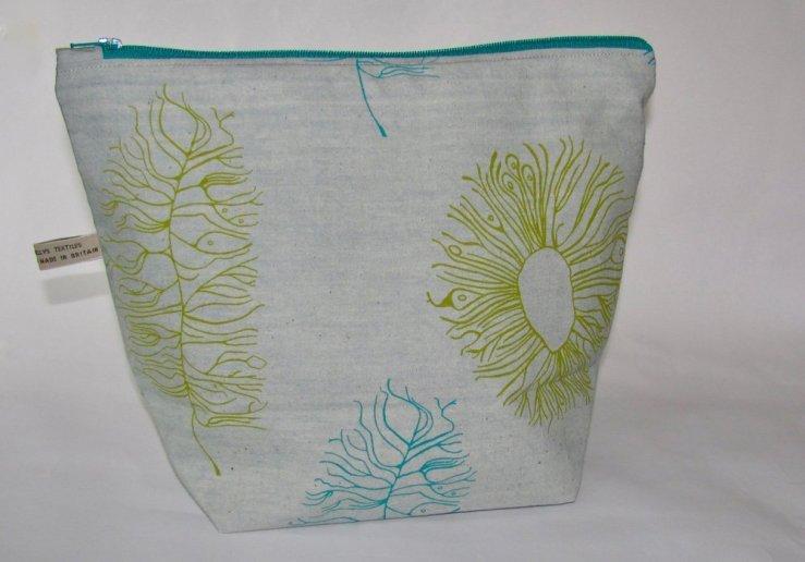handmade travel pouch