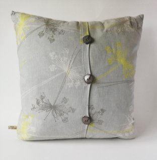 handmade flower design cushions