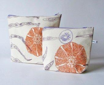 fruity handmade wash-bags