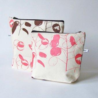 Honesty flower handmade bags