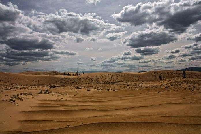 сколько процентов занимают песчаные пустыни построить маршрут пешком спб на карте