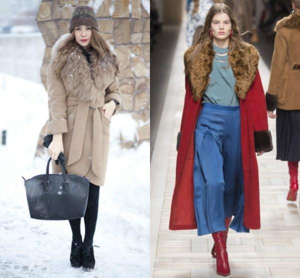 Зимнее пальто мода 2019 фото модные тенденции