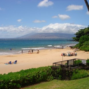 Polo Beach Maui #408 View of beach and beach entrance