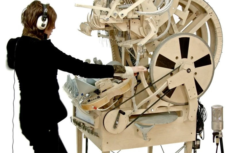 Martin Molin the Wintergatan Marble Machine5